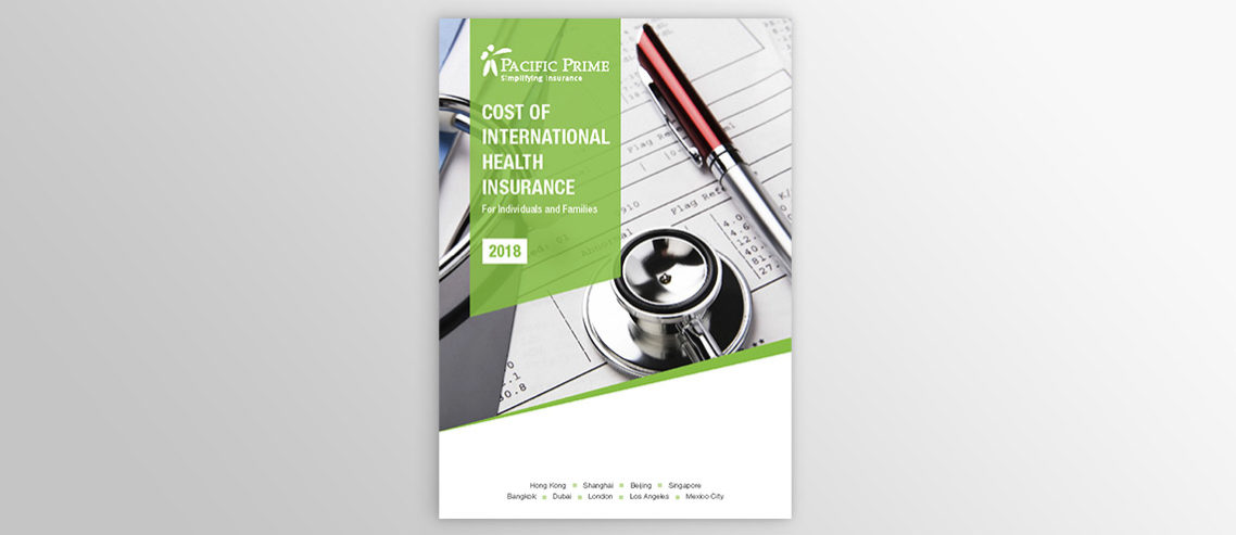 Announcing the release of Cost of International Health Insurance Report - 2018