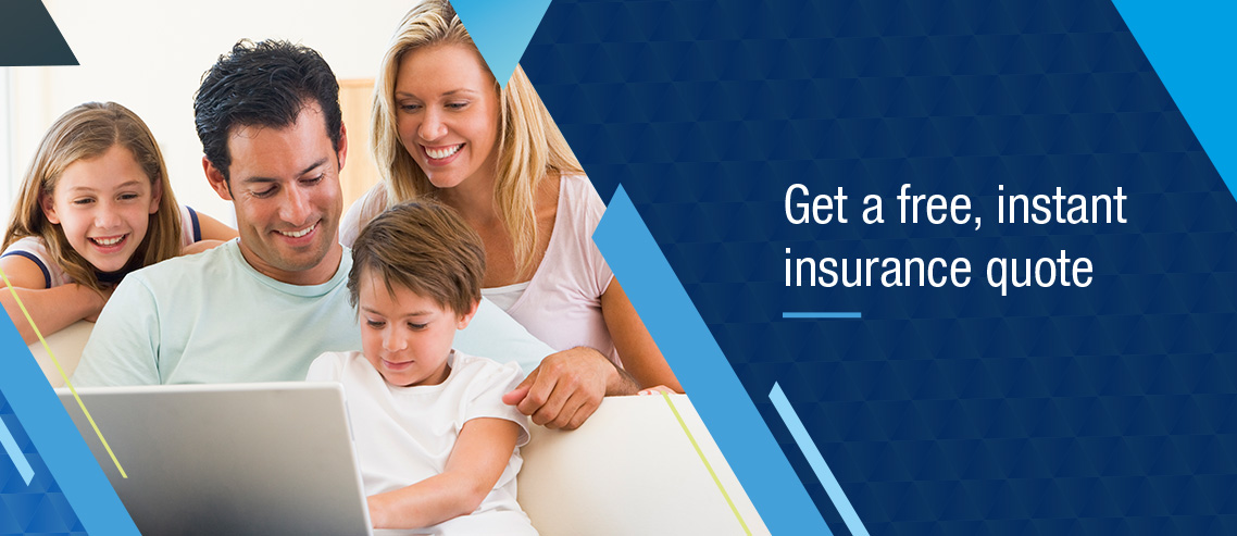 Health insurance quote banner